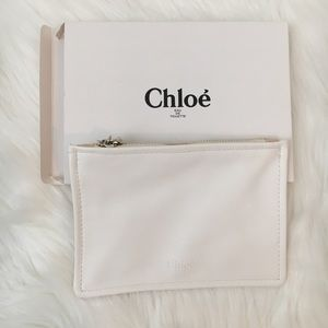 Chloe cosmetics bag